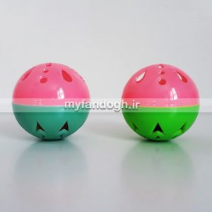 توپ بازی زنگوله ای فایبرگلاس سایز متوسط