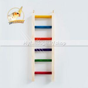 نردبان رنگی پرندگان و طوطی سانان سایز 1