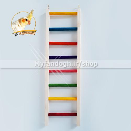 نردبان رنگی پرندگان و طوطی سانان سایز 2