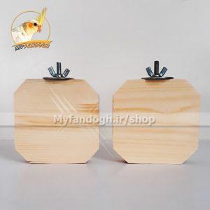 چوب نشیمن مربع طوطی
