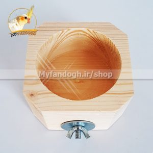 دانخوری چوبی طوطی