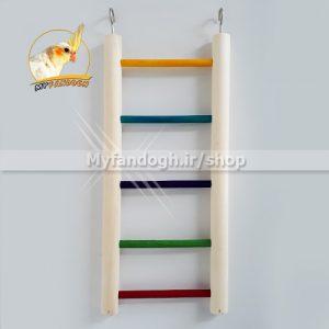نردبان رنگی پرندگان و طوطی سانان سایز 3