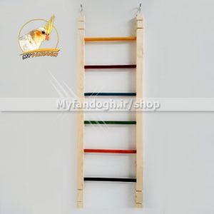 نردبان رنگی پرندگان و طوطی سانان سایز 4