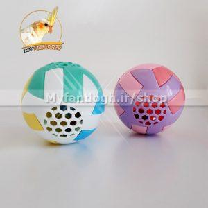 توپ بازی زنگوله ای سایز بزرگ