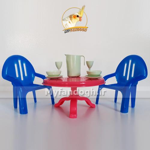 میز غذاخوری طوطی سانان