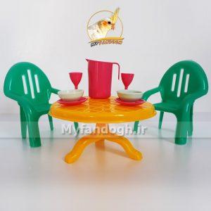 میز و صندلی غذاخوری طوطی سانان