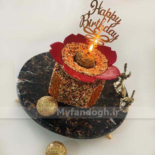 کیک تولد طوطی