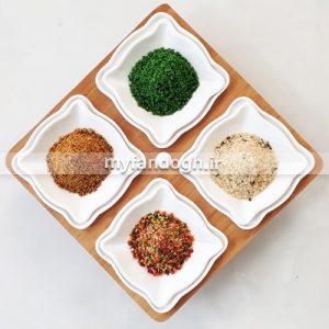 غذای تخم مرغی، سیب و عسل، سبزیجات و میوه ای طوطی سانان