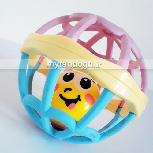 توپ بازی زنگوله دار ایموجی