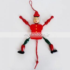 آویز متحرک عروسک های چوبی پدر ژپتو