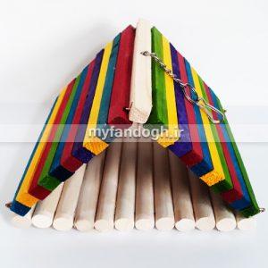 مخفیگاه چوبی طوطی