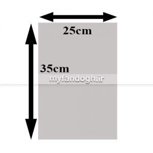 کاغذ کاهی کف قفس پرندگان، طوطی سانان و جوندگان سایز 2535 سانتی متر