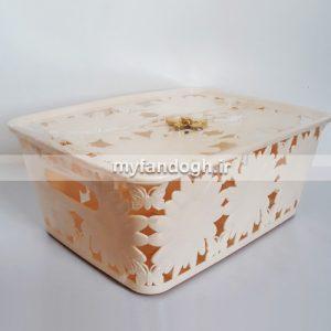 باکس نگهداری جوجه طرح گل و پروانه