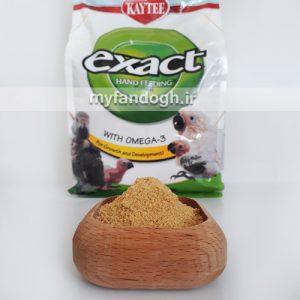 سرلاک طوطی سانان اگزکت امگا 3 exact omega3 hand feeding formula