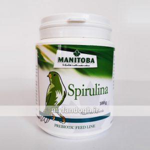 جلبک اسپیرولینا مانیتوبا برای پرندگان و طوطی سانان Manitoba Spirulina algae